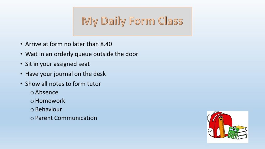 Form Tutor 3