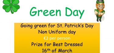 Go Green for St Patrick