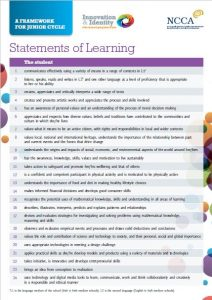 statements of learning