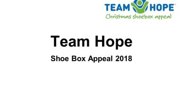 Team Hope – Shoe Box Appeal