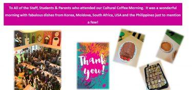 Global Citizenship Coffee Morning