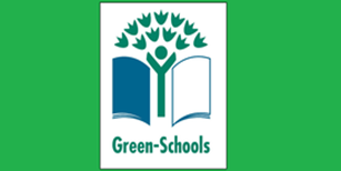 Green School Travel Flag