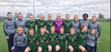 Eve O'Brien Irish U15s Schools Team