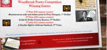 Woodbrook's 2021 Poetry Competition